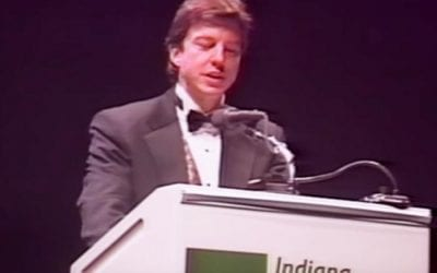 IBJ Article Recalls 1996 Event Where President Trump was Roasted