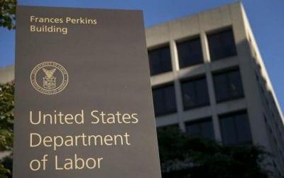 U.S. Department of Labor Announcement